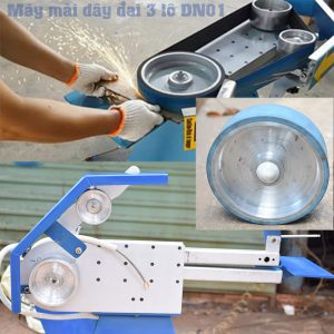 máy mài dây nhám vòng thay thế phụ kiện